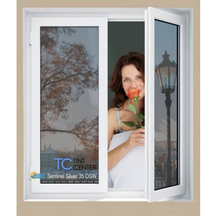 "SolarGard Sentinel Outside Weatherable (OSW) Film Silver - 60"" Wide"