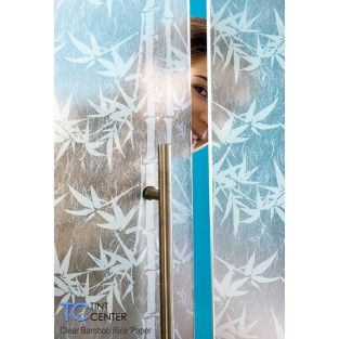 "Clear Bamboo Rice Paper - 48"" Wide"