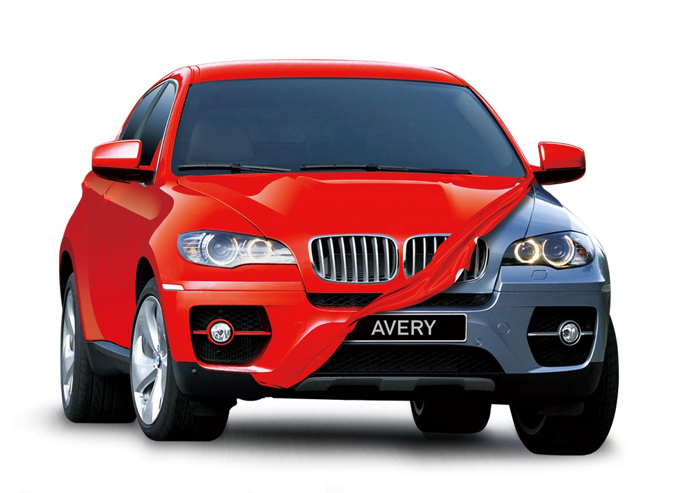 Window tint avery supreme wrapping film 60 wide for Avery paint protection film